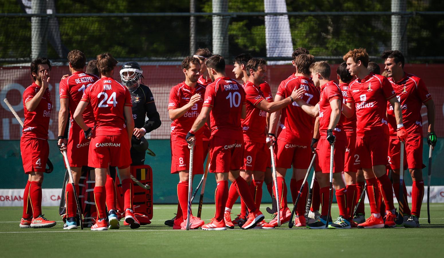 Les Red Lions le 30 mai à Wilrijk.