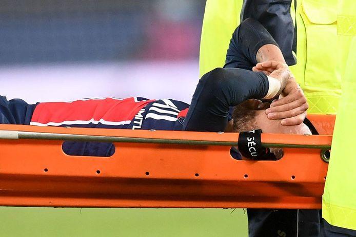 Neymar blessé lors du choc face à l'OL