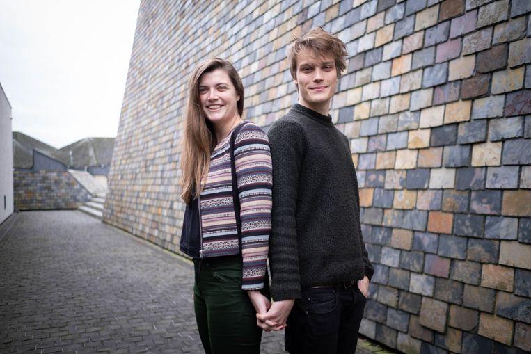 Aalex Vertommen en Ralph Hermans aan CC Zwaneberg