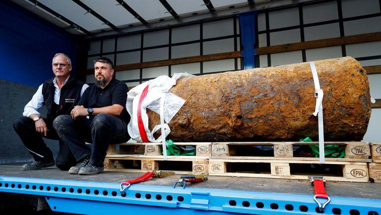 Dit is de bom die 60.000 Duitsers uit hun huis dwong.