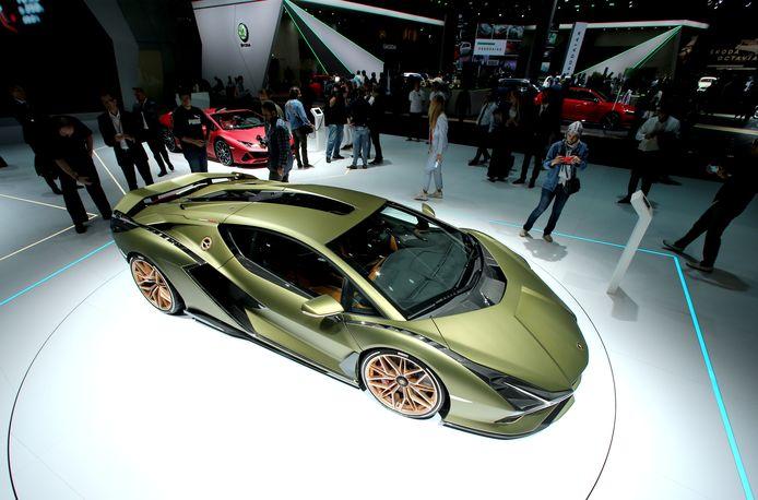 In 2019 werd de Sian voorgesteld, de allereerste auto van Lamborghini met hybride technologie.