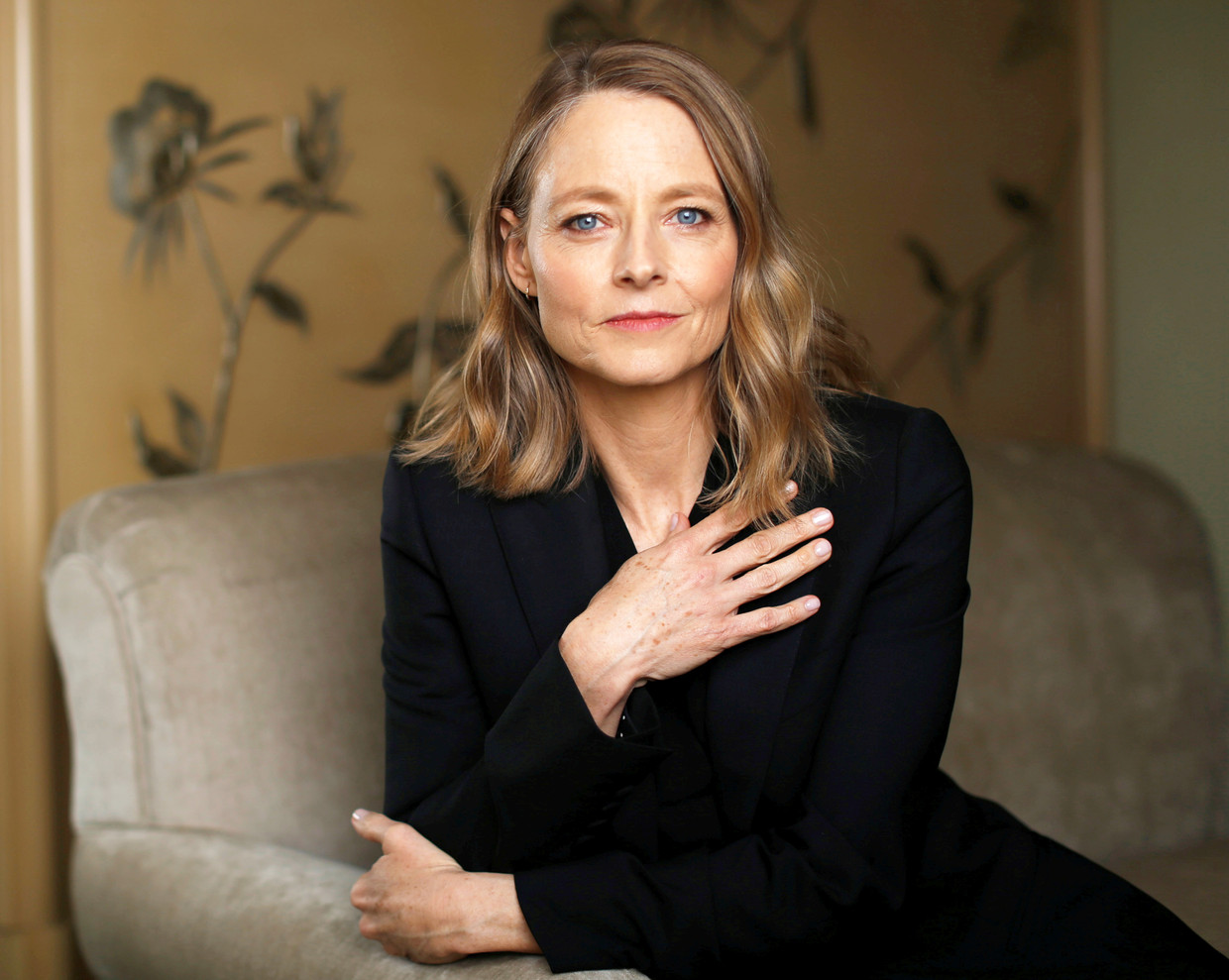 Director Jodie Foster poses for a portrait while promoting the upcoming movie
