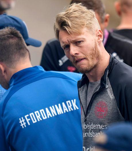 Kjaer brengt Eriksen bezoekje: 'Prachtig om hem te zien lachen en huilen, te merken dat hij nog leeft'