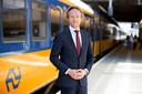 Tjalling Smit, directielid van de Nederlandse Spoorwegen.