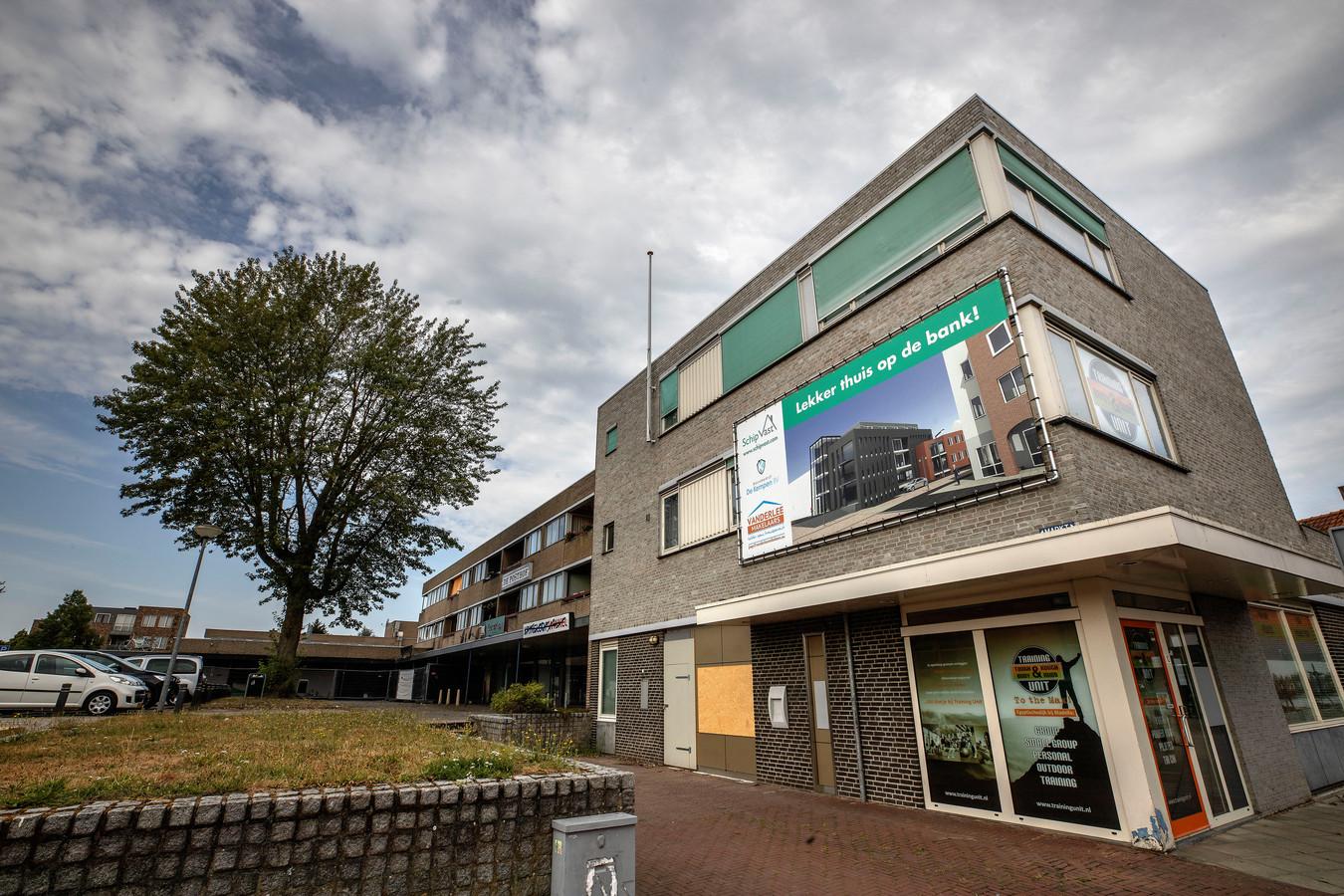 Appartementencomplex de Posthof aan de Markt in Bladel