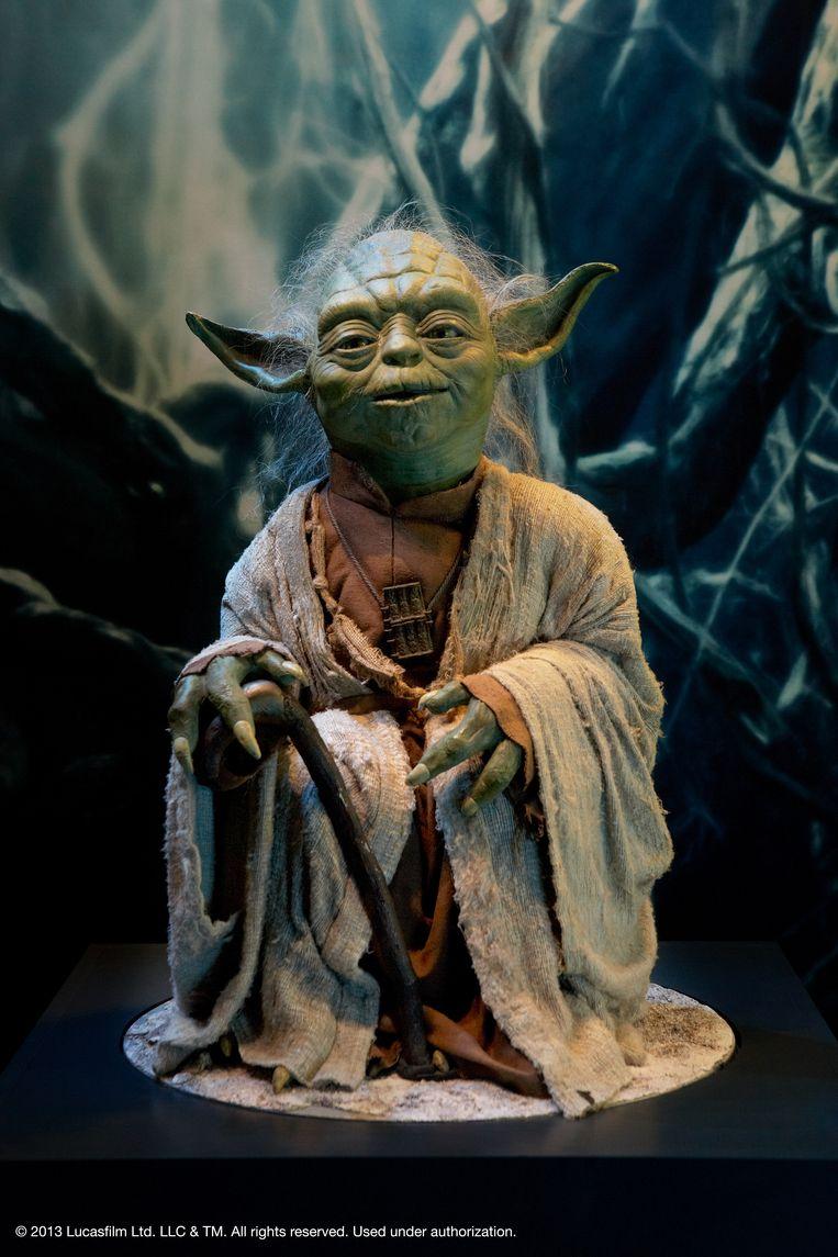 Yoda uit 'Star Wars'. Beeld RV