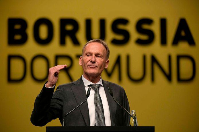 Hans-Joachim Watzke, CEO du Borussia Dortmund.