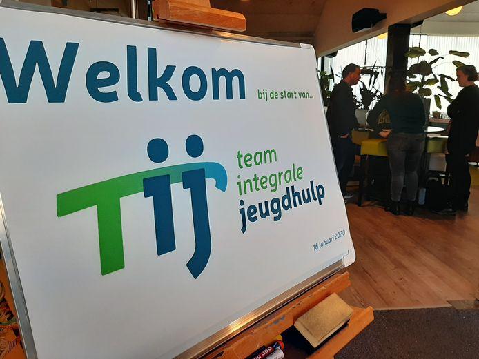 De nieuwe samenwerking Tij is donderdag gepresenteerd aan alle medewerkers