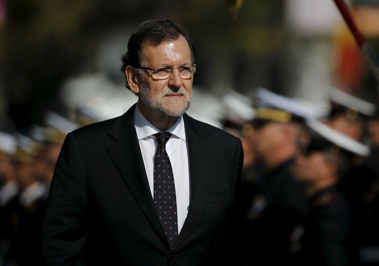 Spaans premier Rajoy. Beeld REUTERS