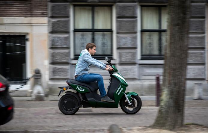De e-scooter start-up Felyx heeft inmiddels als zo'n 50.000 actieve gebruikers.