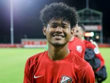 Bagus Kahfi maakt eerste goal Jong Indonesië, FC Utrecht-talenten naar Oranje