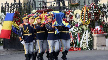 Roemenen nemen afscheid van hun laatste koning