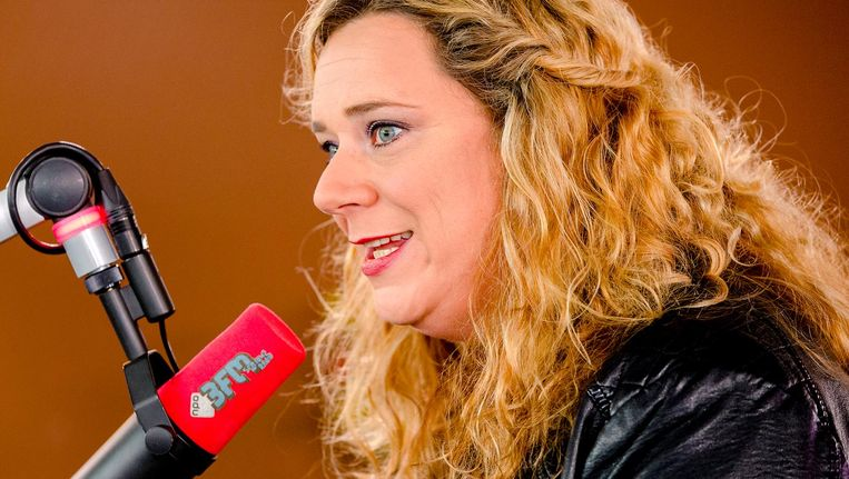 Roosmarijn Reijmer hield een pleidooi in NRC Handelsblad voor meer vrouwen op de radio. Beeld anp