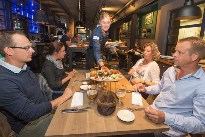 Hotel-Brasserie Katoen in Goes.