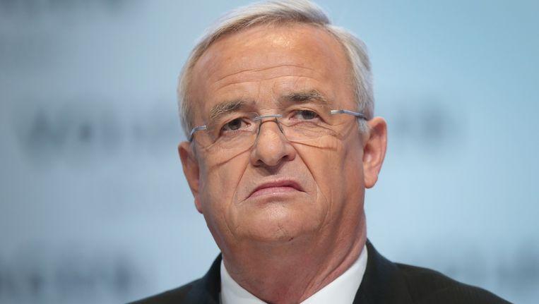 Martin Winterkorn, CEO van Volkswagen. Beeld GETTY