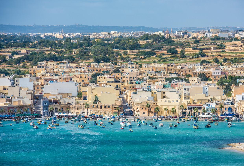 Marsaxlokk in Malta Beeld Belga/Konstantin Kalishko