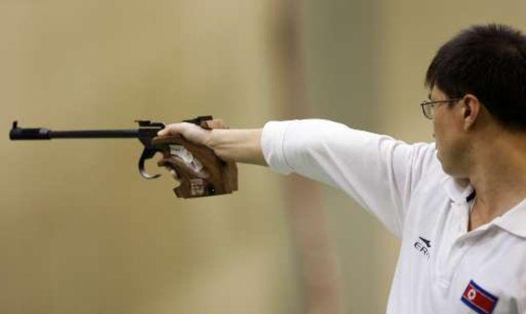 Schutter Jong-su mocht zijn medailles weer inleveren na een positieve dopingtest. Beeld UNKNOWN