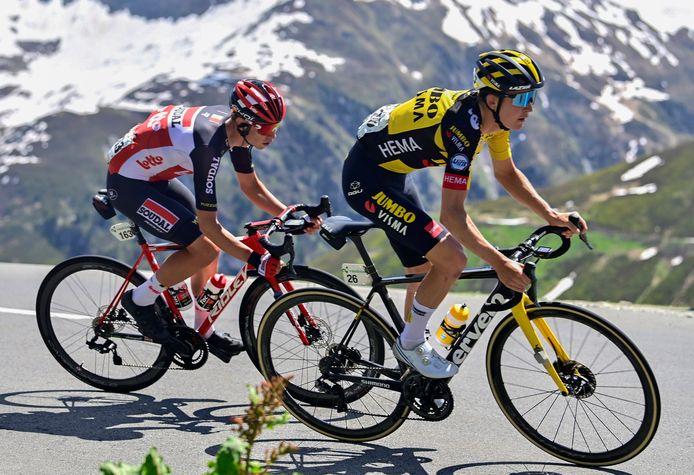 Antwan Tolhoek, hier in actie tijdens de Ronde van Zwitserland, is één van de Zeeuwen die in actie komt tijdens de NK wegrace.