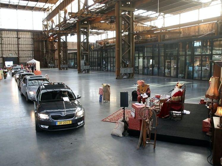 Drive-thru Sinterklaasfeest in tijden van corona