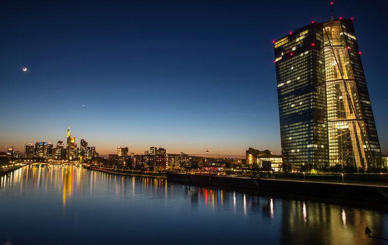 De ECB in Frankfurt Beeld EPA