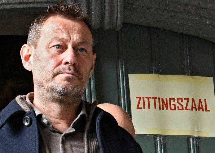 Bart De Pauw in de rechtbank gisteren.