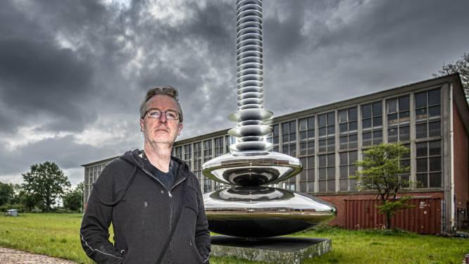 Koelwaterhal IJsselcentrale in Zwolle krijgt nieuwe energie door kunstenaar Westerhuis