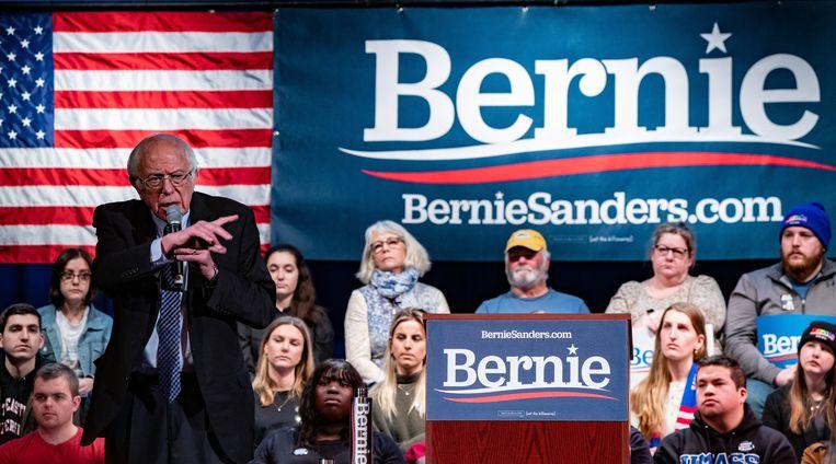 Bernie Sanders maakt goede kans de uiteindelijke Democratische genomineerde te worden.