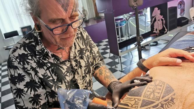 Een Maori-tattoo uit de polder bij Driewegen