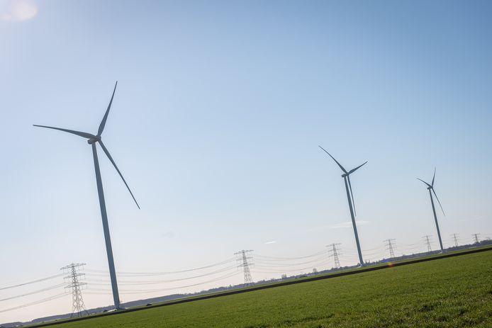 Windmolenpark elders in Nederland.