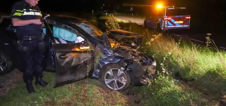 Automobilist verliest macht over het stuur en belandt in greppel Son en Breugel