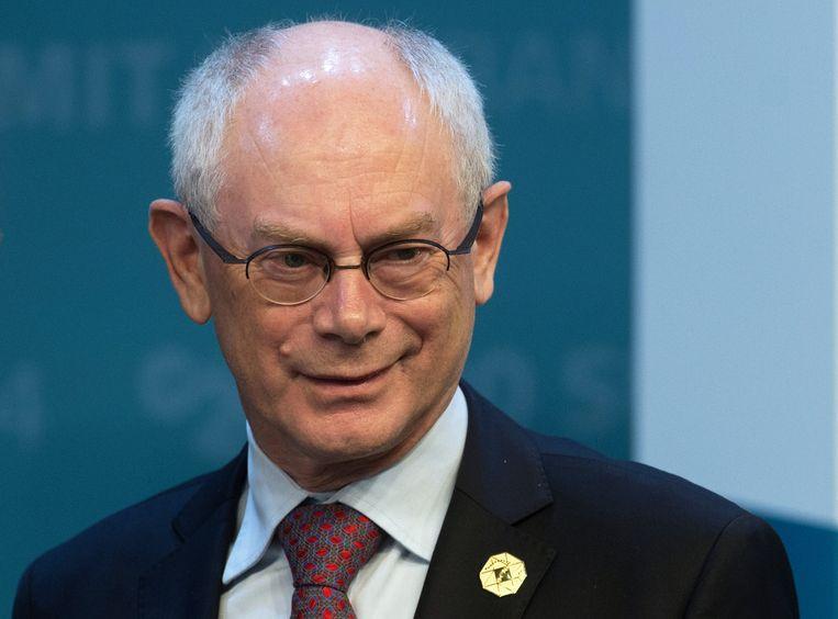 Herman Van Rompuy. Beeld BELGAIMAGE