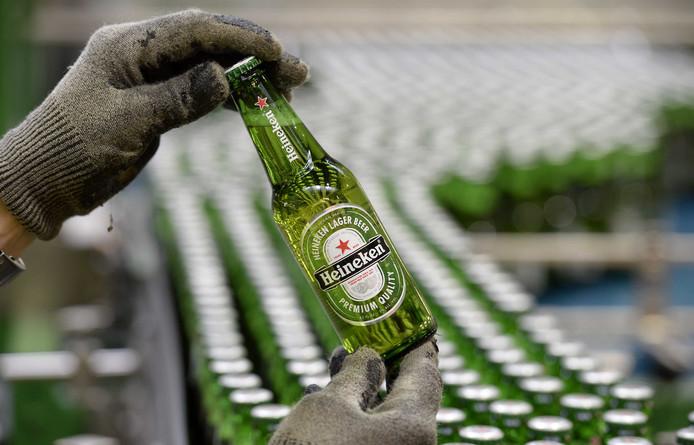 De brouwerij van Heineken in Den Bosch.