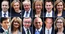 Les candidats susceptibles de prendre la tête du parti conservateur