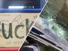 Vandalen laten spoor van vernieling achter in Twello: 'Ze zongen keihard, terwijl ze autospiegels kapot trapten'