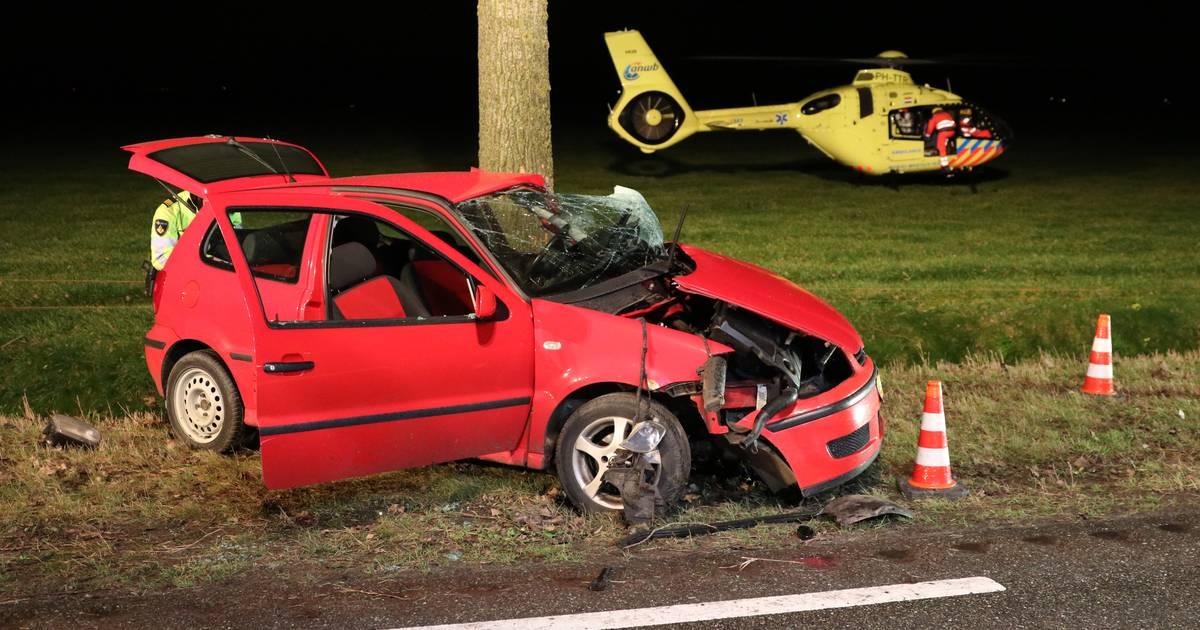 Automobilist zwaargewond bij ernstig ongeluk in Creil.