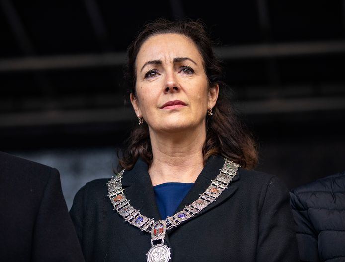 De Amsterdamse burgemeester Femke Halsema.