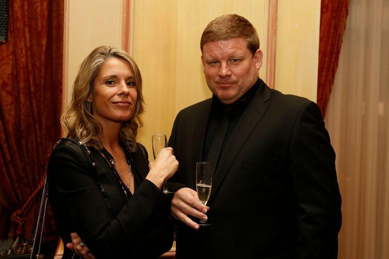 Hein Vanhaezebrouck met echtgenote Vanja. Beeld PHOTO_NEWS