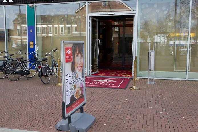 De vestiging van Jack's Casino aan de Watermolenwal in Helmond