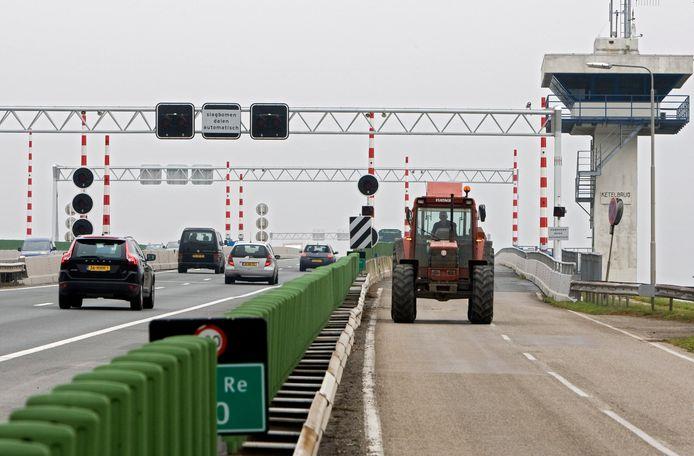 Foto ter illustratie. De werkzaamheden aan de A6 tussen Lelystad-Noord en de Ketelbrug zijn afgerond.