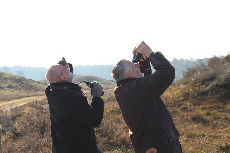 Nico de Haan en Hans Dorrestijn bezoeken natuurgebieden in Nederland. Beeld MAX