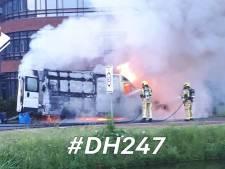Oorzaak spontane voertuigbrand in De Lier nog onbekend