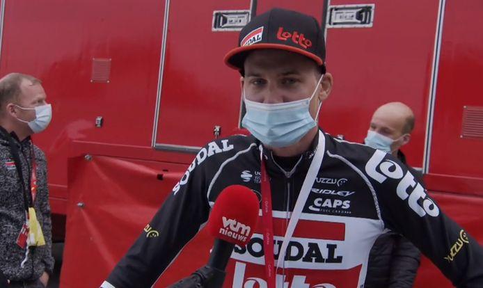 Wellens na zijn tweede zege in de Vuelta.