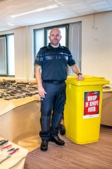 Bizar: voor 25 vierkante meter aan wapens ingeleverd bij politie (in één week tijd!)