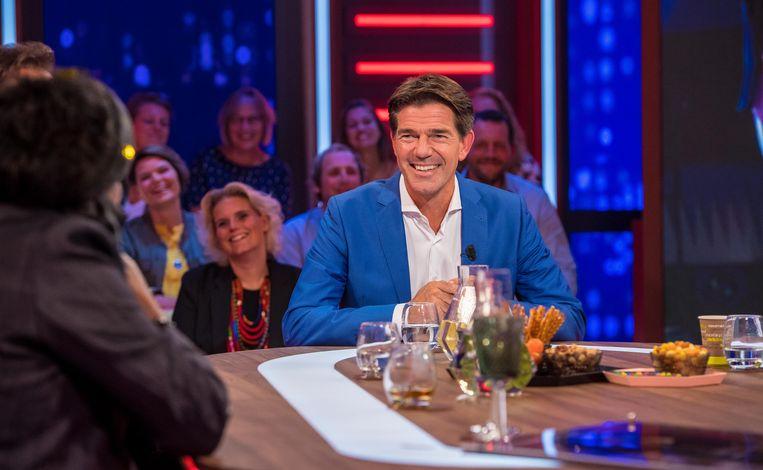 Twan Huys, tafelheer van RTL Late Night.  Beeld ANP Kippa