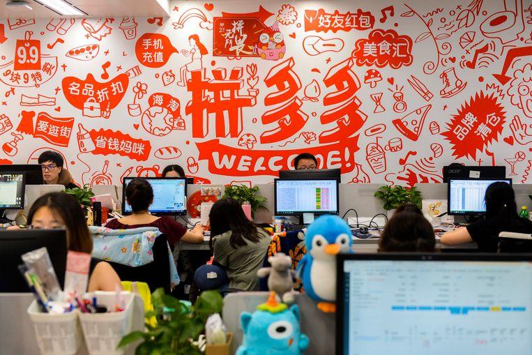 China is befaamd vanwege de harde werkcultuur.  Beeld AP