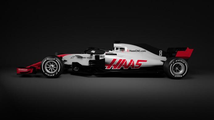 De VF18, de auto van Haas
