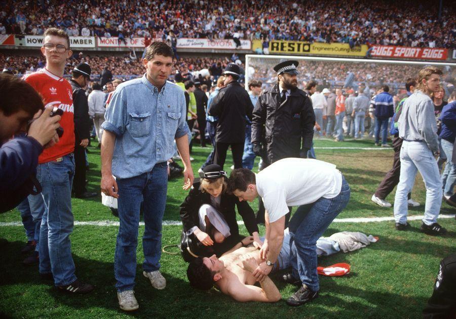 De stadionramp gebeurde tijdens de halve finale van de Engelse bekercompetitie tussen Liverpool en Nottingham Forest.