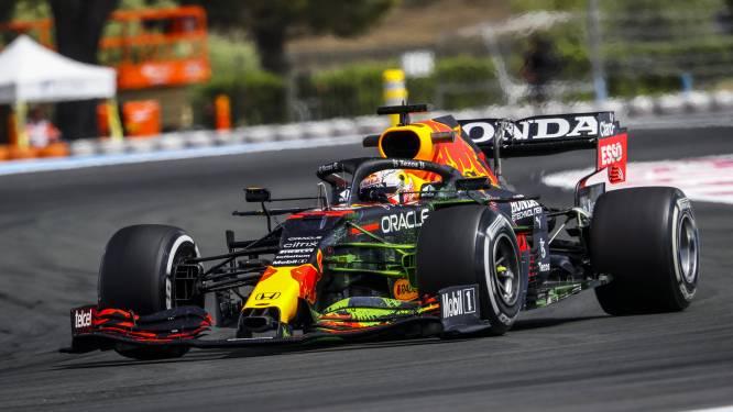 Verstappen snelste in tweede vrije oefensessie in GP van Frankrijk