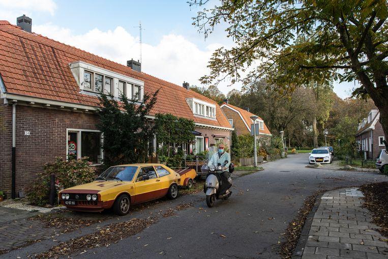 De Kleine Beerstraat in Amsterdam-Noord. Beeld Dingena Mol