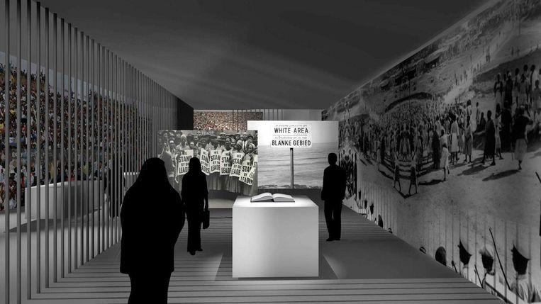 Een impressie van de nieuwe tentoonstelling. Beeld De Nieuwe Kerk